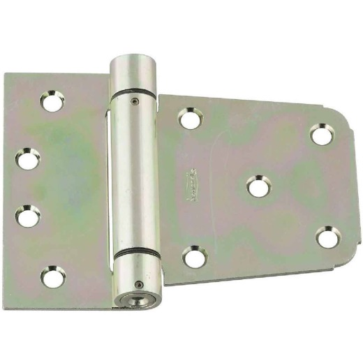 National 3-1/2 In. Zinc Heavy-Duty Spring Gate Hinge