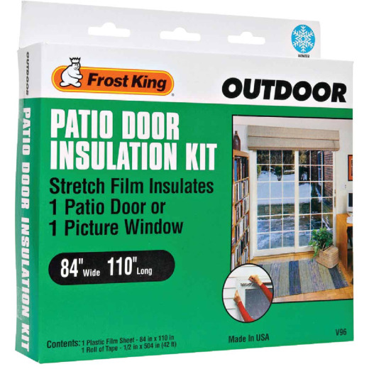Frost King 84 In. x 110 In. Window Outdoor Stretch Film Kit