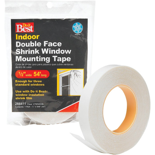 Do it 1/2 In. x 54 Ft. Indoor Window Film Tape