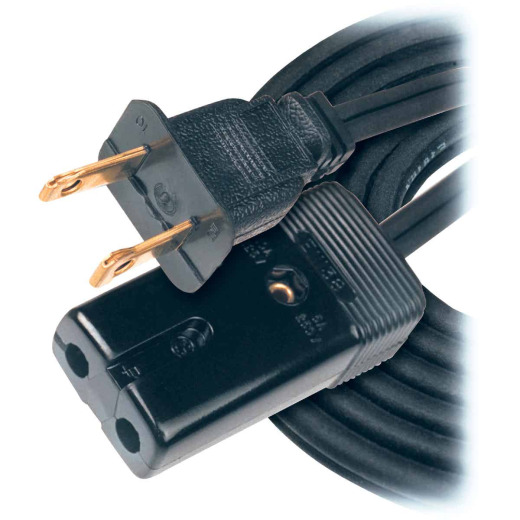 Woods 6 Ft. 18/2 10A Mini Plug Appliance Cord