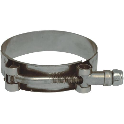 Apache 2-5/16 In. x 2-5/8 In. Stainless Steel T-Bolt Clamp