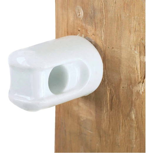 Dare Screw-In White Porcelain Electric Fence Insulator