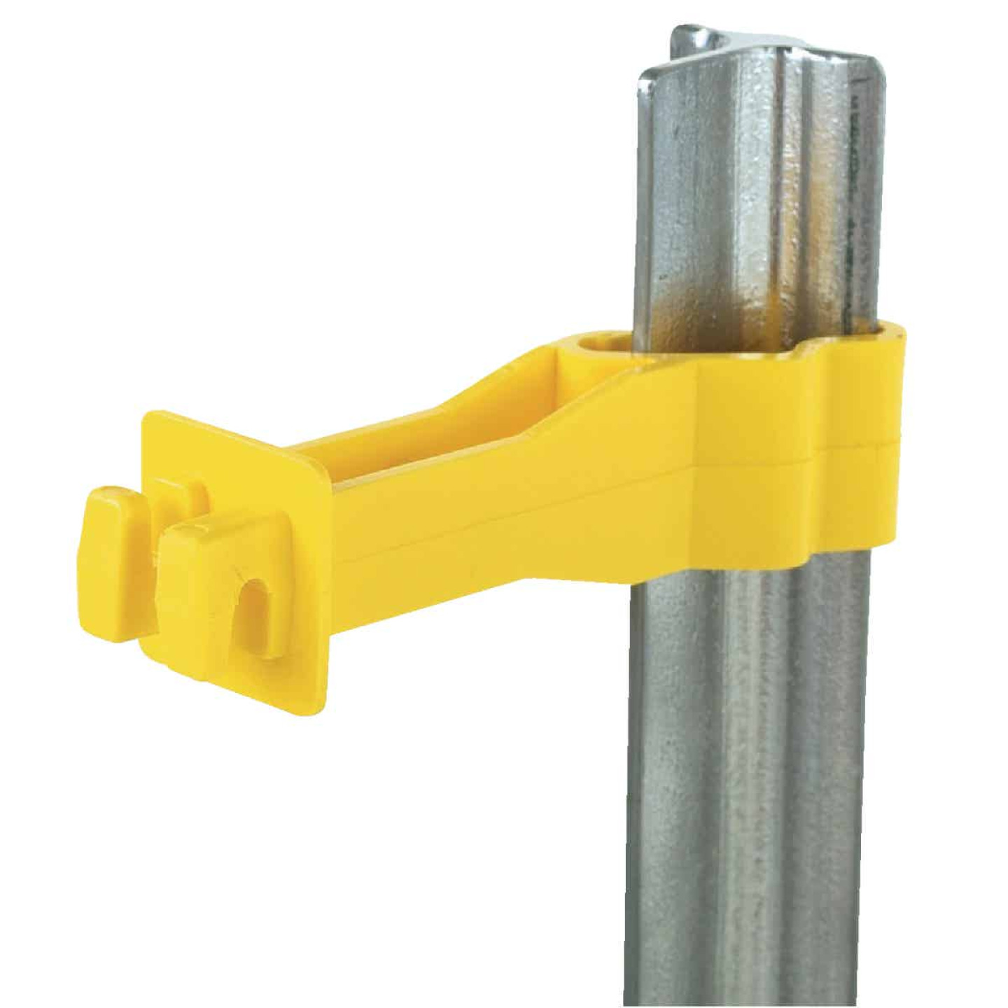 Dare Back Side, Snap-on Yellow Polyethylene Electric Fence Insulator (25-Pack) Image 1