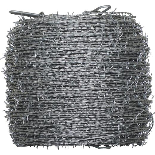 Oklahoma Steel & Wire 1320 Ft. x 15.5 Ga. 4 Pt. Barbed Wire
