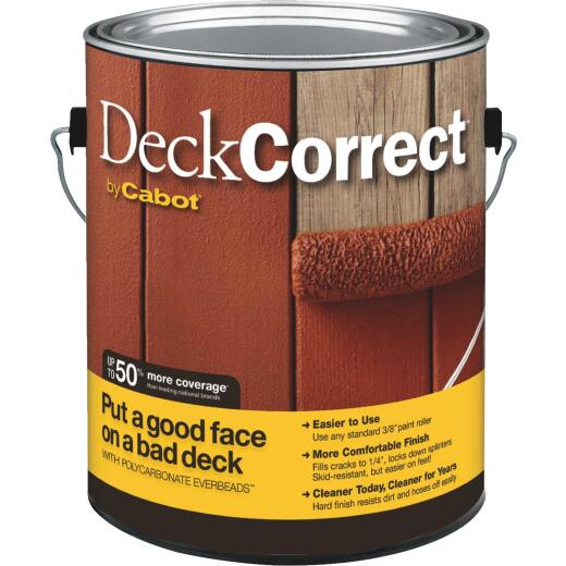Cabot DeckCorrect Tint Base Wood Deck Resurfacer, 1 Gal.