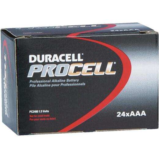 Duracell ProCell AAA Alkaline Battery (24-Pack)