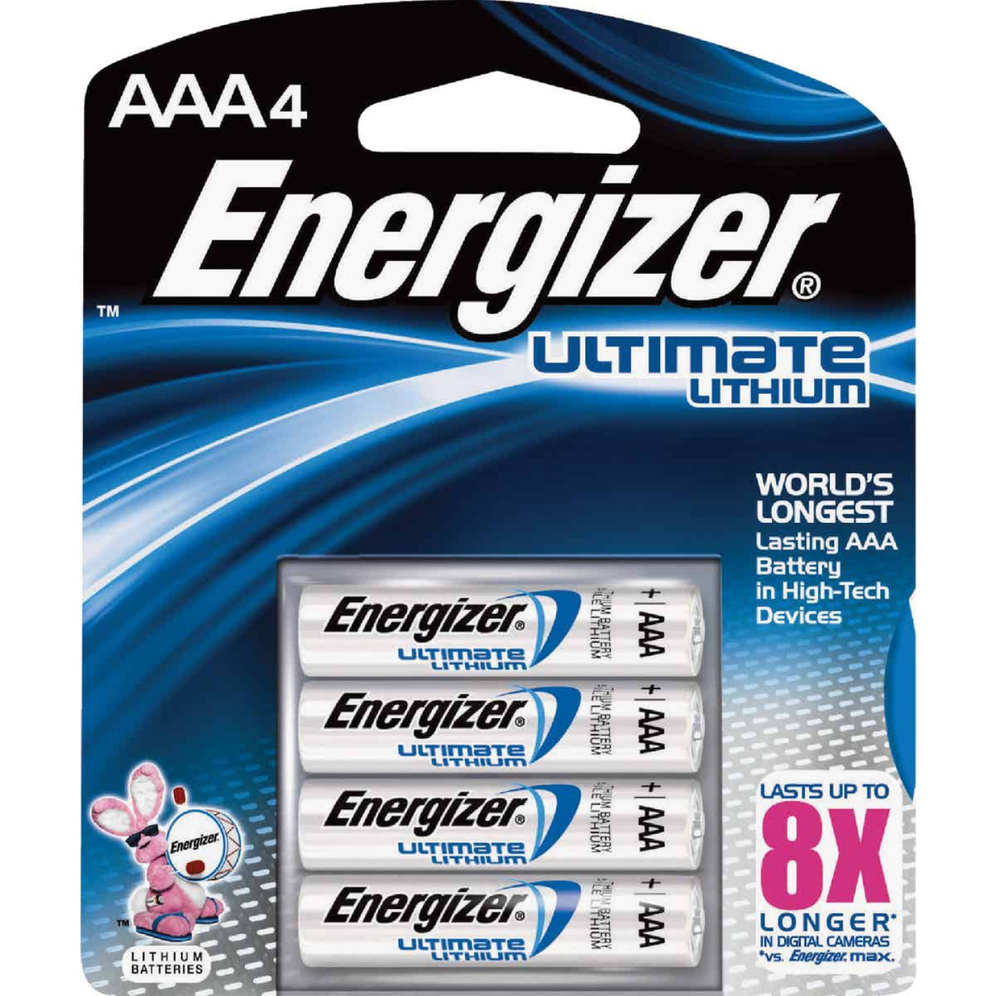 Energizer AAA Ultimate Lithium Battery (4-Pack) Image 1