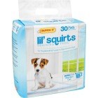 Ruffin' it Lil' Squirts 22 In. x 22 In. Puppy Training Pads (30-Pack) Image 1