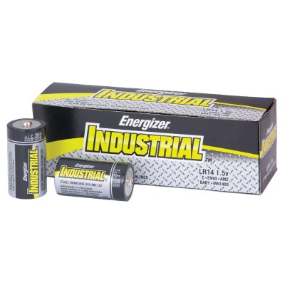 Energizer Industrial C Alkaline Battery (12-Pack)