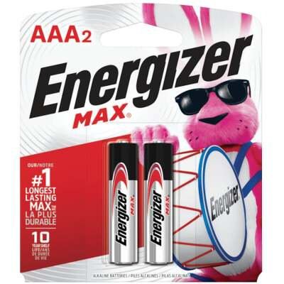 Energizer Max AAA Alkaline Battery (2-Pack)