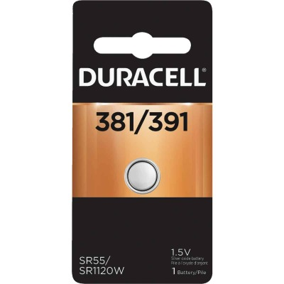 Duracell 381/391 Silver Oxide Button Cell Battery